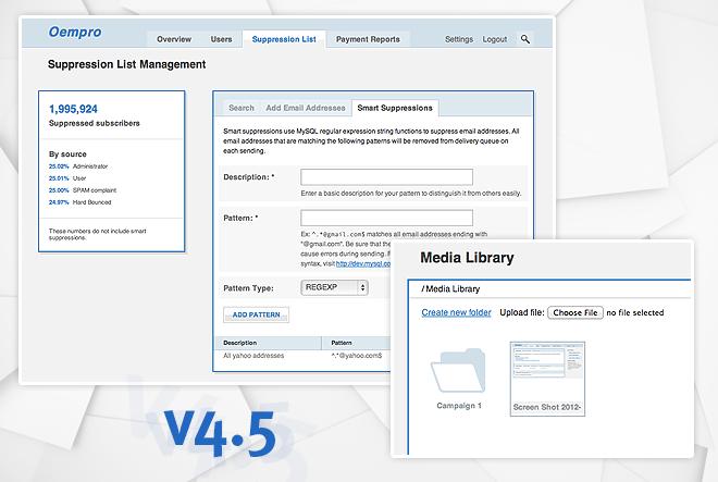 Oempro v4.5 Release
