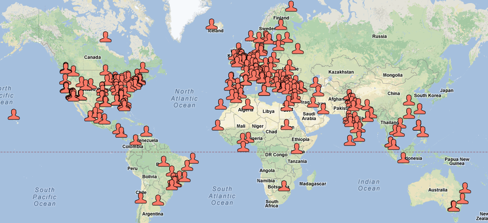 Oempro Customers in the World